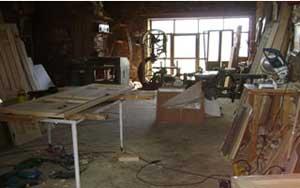Interior carpintería de madera 1