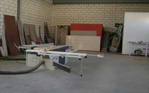 Interior carpintería de madera 2