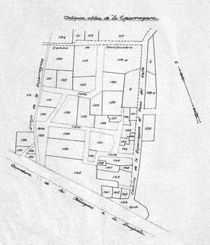 Plano villa de Los Blázquez