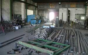 Interior carpintería metálica